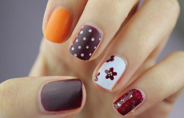 Самые модные дизайны маникюра на коротких ногтях.
